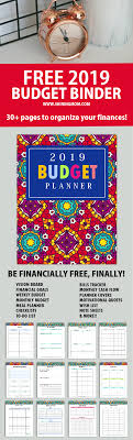 Budget Planners Free Free Printable Budget Planner 2019 30 Budget Templates