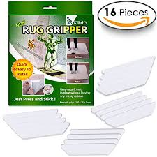 k liah rug grippers for hardwood floors anti curling rug gripper non slip rug pad non skid rug pads tape keep your rugs in place make corners flat