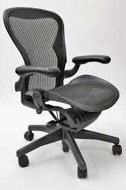 Herman Miller Aeron Chair Basic Size B Or C Black