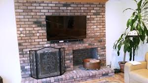 flat screen tv mounting over brick fireplace south hampton ny3 0 jpg