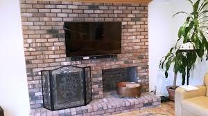 flat screen tv mounting over brick fireplace south hampton ny3 0 jpg