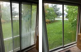 new sliding glass door