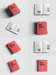 p realistic book mockup template pack free psd this is a