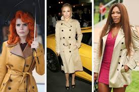 burberry trench and raincoats for women