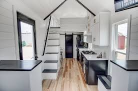 luxury tiny house. Inside A Luxury Tiny Home With Stairway House S