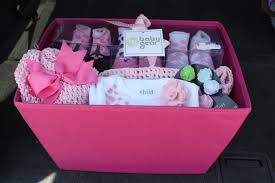 cute baby shower gift basket