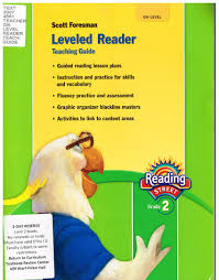 Scott Foresman Leveled Reader Conversion Chart Leveled Reader Teaching Guide On Level Scott Foresman