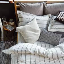 Rule Bedding in Grey Luxury Grey Striped Bedding ...