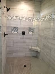 Who needs a spa day when you have a bathroom like this? This walk-  Shower  Tile ...