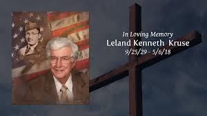 Obituary   Leland Kenneth Kruse of Taylor, Texas   Providence ...