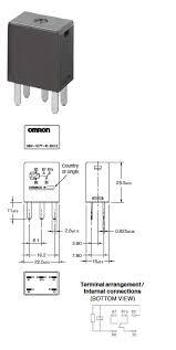 g8v automotive micro 280 relay omron americas g8v 1c7t r dimensions1