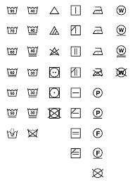 洗濯表示マークjis L 0001のillustratorデータを配布します