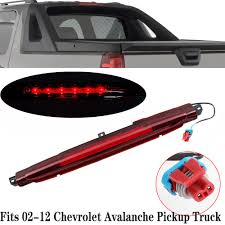 How To Change Third Brake Light On 2002 Chevy Avalanche Details About For 02 12 Chevrolet Avalanche Pickup Truck 3rd Third Brake Light Chmsl 15120540