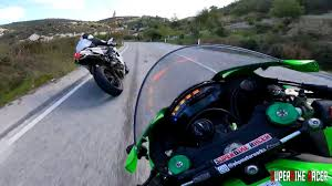 Fast Ride SuperBike Ninja ZX10R 2019 SparkExhaust Sound - YouTube
