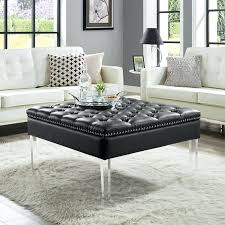 Formal Round Ottoman Coffee Table Fabric Kitchen Cabinets Lowes