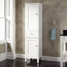 Small Bathroom Storage Cabinets Dark Countertop bined Glossy
