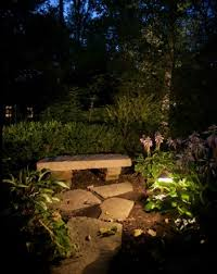 outdoor lighting consultation bench lighting