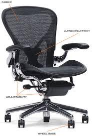 office chair guide. Aeron-chair-diagram Office Chair Guide R