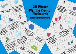 winter writing prompts the autism helper winter writing prompts