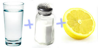 Картинки по запросу Паста из соли и лимонного сок