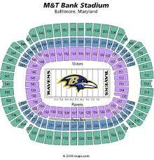 4 Seats Tickets Baltimore Ravens Psl Psls Psls Club Level