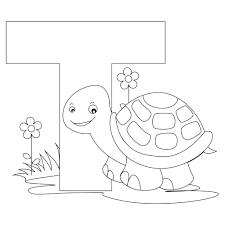 Alphabet Letter Coloring Pages Printable Page Bubble L For