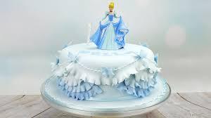 Cinderella Princess Birthday Cake Youtube