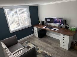 New ikea alefjäll ergonomic office / home chair 64cm x 64cm grann beige. The Reddit Special Small Home Offices Home Office Setup Gamer Room Decor