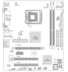 ukt support advent t9307 pc motherboard diagram