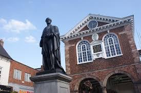 Image result for robert peel statue tamworth