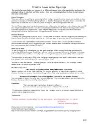Strongover Letter Opening Statements Intro Sentence Sample Words