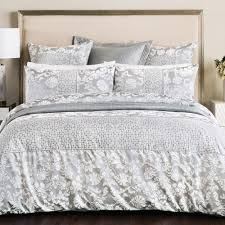 sheridan villers tailored silver duvet cover