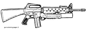Lovely Nerf Gun Coloring Pages 25 About Remodel Line Drawings With