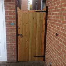 quality wooden side gate