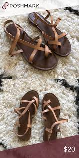 Mossimo Sandals Sz 8 5 Gently Used Super Cute Purchased