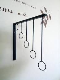 2018 wrought iron clothes clothes hanger accessories rings reveal frame on the wall hang hanger hook wall from winss 50 26 dhgate com