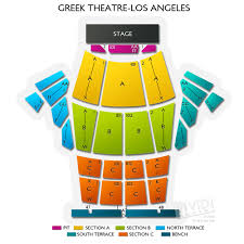 The Palladium Los Angeles Seating Chart Greek Theatre Los Angeles Seating Chart For Socals Top