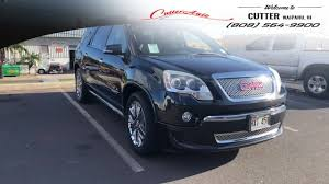 gmc acadia 2012 for sale. Delighful For PreOwned 2012 GMC Acadia Denali SUV For Sale In Waipahu Near Pearl City Inside Gmc For