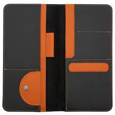 <b>Органайзер для путешествий Hakuna</b> Matata, черный с оранжевым