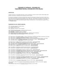 Resume Template Painter Position Sidemcicek Com