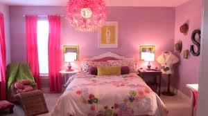 Bedroom, Glamorous Pink Colour Bedroom And Girl Design Pictures Medium  Ideas For Little Girls Hardwood
