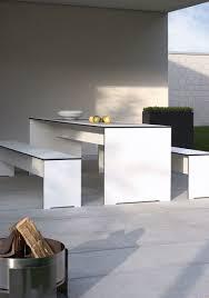 Conmoto Riva Set Tisch Bank Weiß Ebay Office Gartentisch