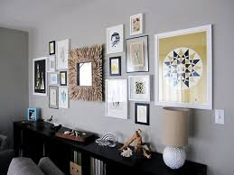mirror collage wall decor