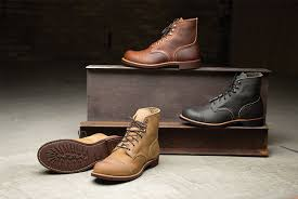 red wing herie gives a new sole to
