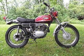 yamaha other 1970 yamaha dt 1 250 dt 250 enduro original motorcycle