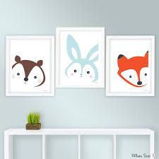 Bunny Nursery Art Print