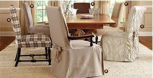 dining room chair covers with arms drew home slip covers for large dining room