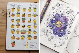 30 Unique Bullet Journal Mood Tracker Ideas To Keep You