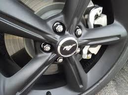 plasti dip rims painted caliper picture intensive page 2 ford