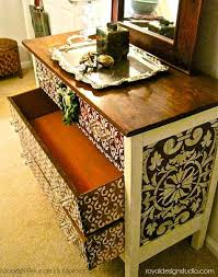 image stencils furniture painting. furniture stencil project with moroccan stencils and chalk paint decorative from annie sloan image painting n